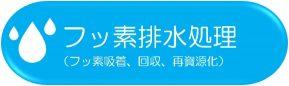 フッ素排水処理(フッ素吸着、回収、再資源化)